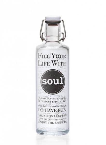 1,0 L Soulbottle-Fill your Life with Soul