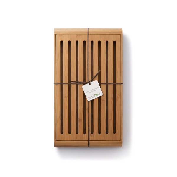 Bambus Brot Schneidebrett (35,5 x 23 x 3cm)