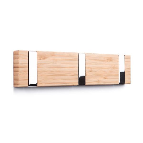 Bambus Garderobenhaken Flip Design 3 Haken