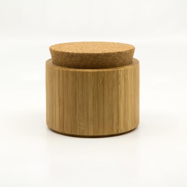 Bambus Dose mit Korkdeckel von Bambu