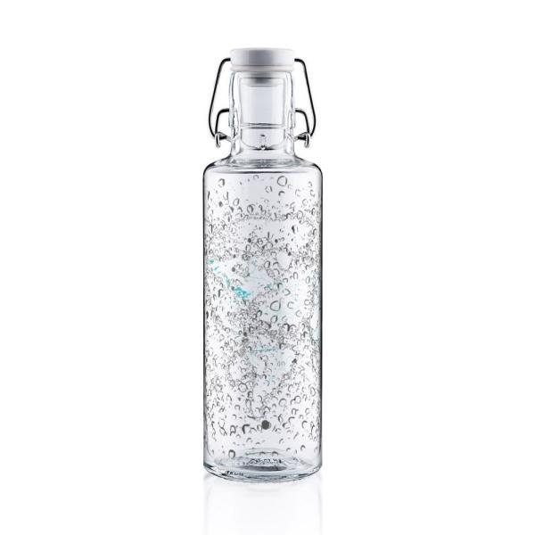 0,6L Soulbottle Glasflasche - Waterworld