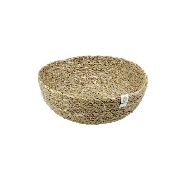 reSpiin - Natürliche Deko Nistschale aus Seegras - Mittel