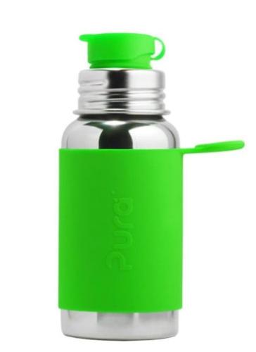 Pura Sportflasche 500 ml Farbe Grün