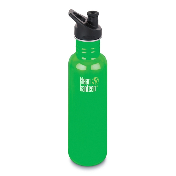 Klean Kanteen Trinkflasche Classic 800 ml mit Sport Cap 3.0 Farbe Organic Garden