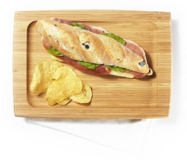 Bambus Sandwichbrett (28 x 18 x 1,5cm) Sandwich