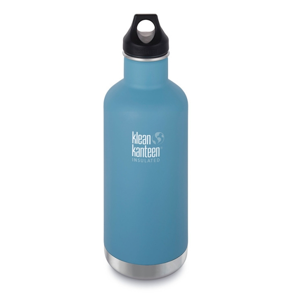 Edelstahl Trinkflasche Classic 946ml isoliert mit Loop Cap