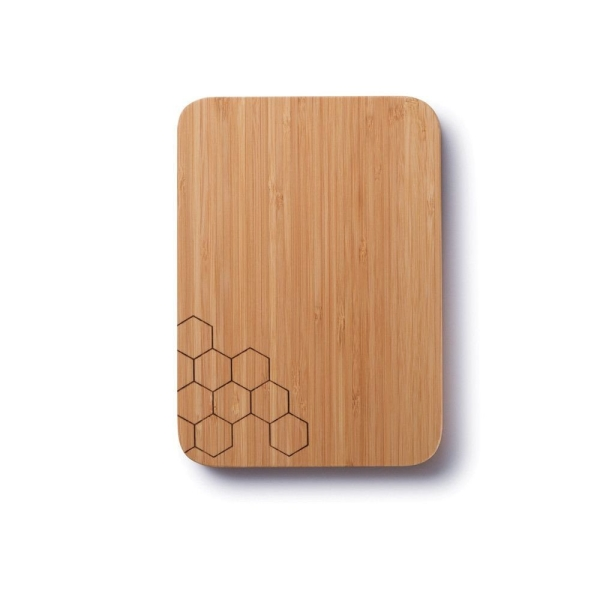Bambus Schneidebrett Honeycomb (28x20x1,58cm)