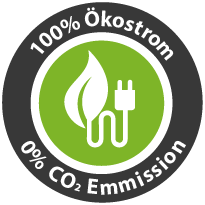 100% Ökostrom - 0% Co2 Emmission